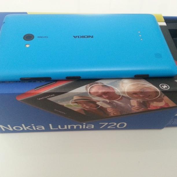 Back Cover Lumia 720