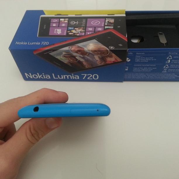 Parte Superiore Lumia 720